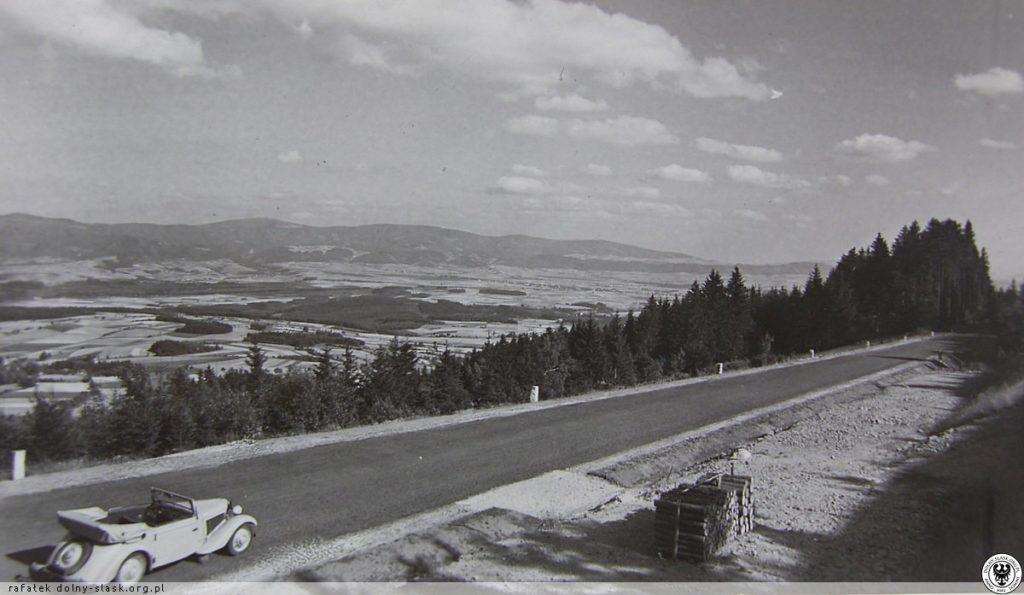 Autostrada Sudecka góry Bystrzyckie