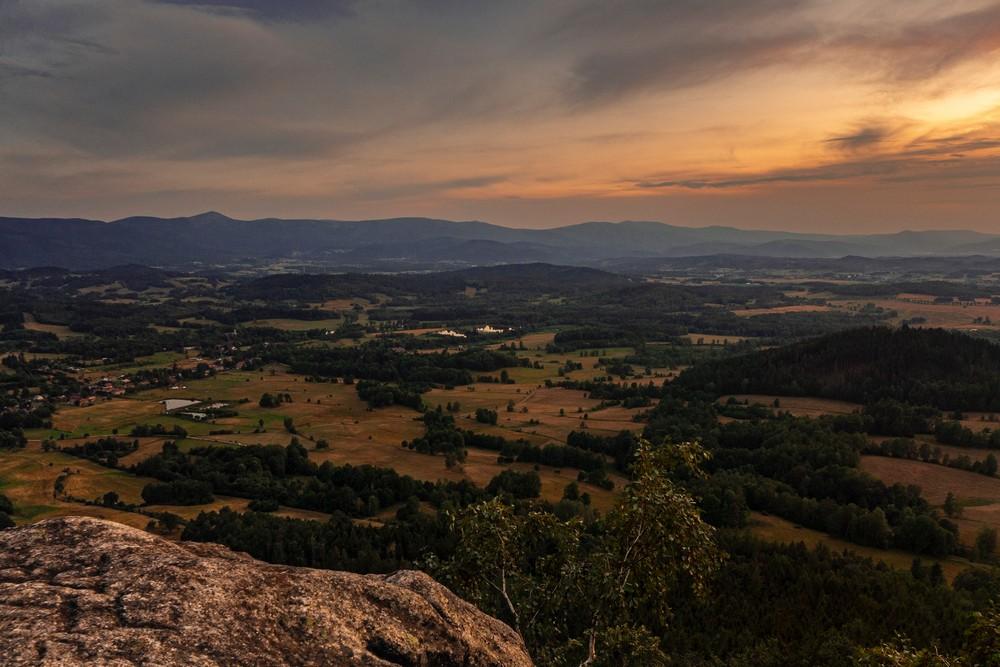 Widok z Krzyżnej Góry