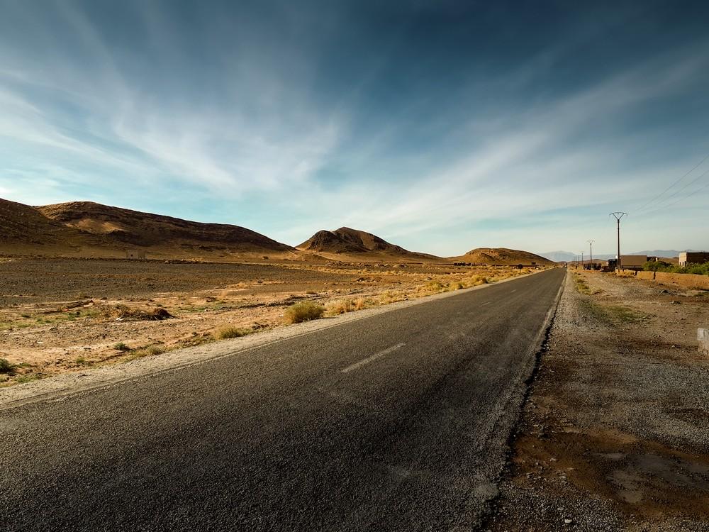 W drodze na pustynie