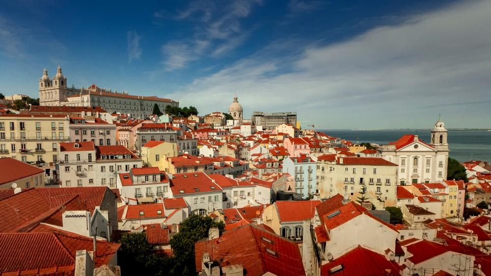 Miradouro das Portas do Sol Lizbona