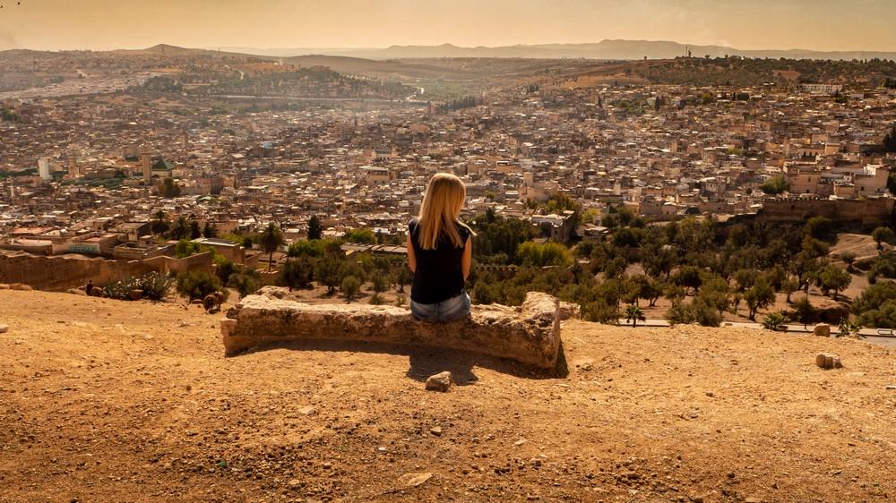 Grobowce Merynidów Fez Maroko