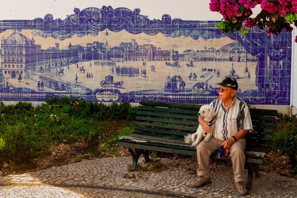 Płytki Azulejos Lizbona Portugalia
