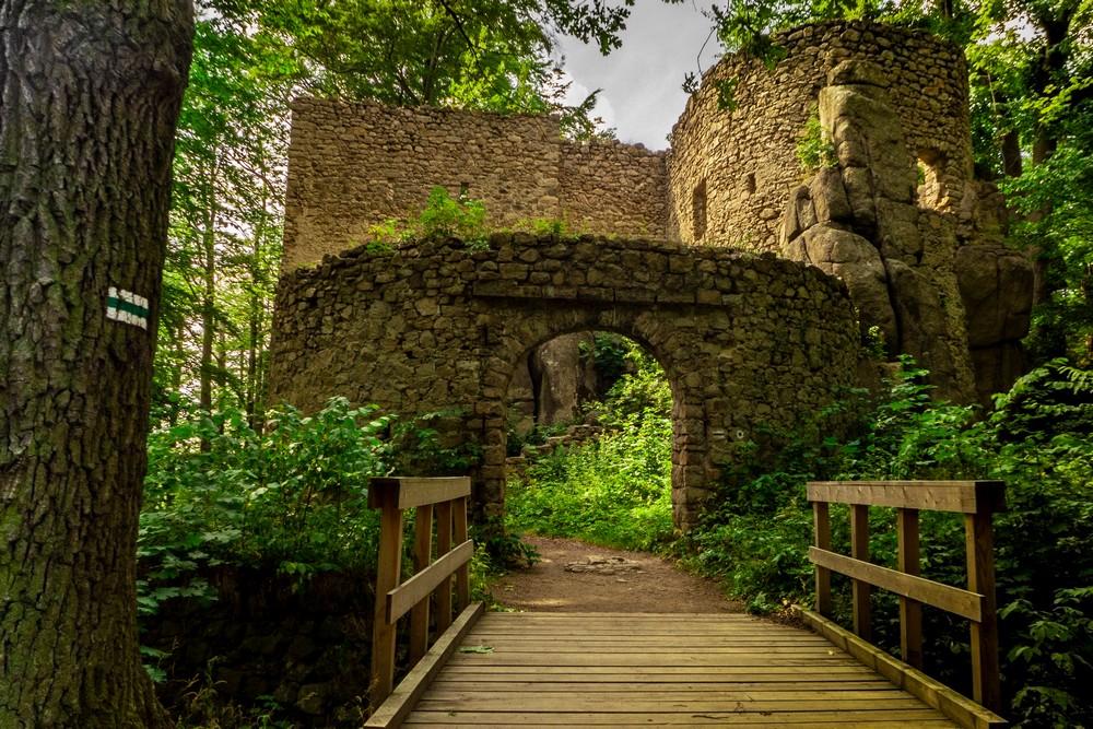 Zamek Bolczów Janowice Wielkie