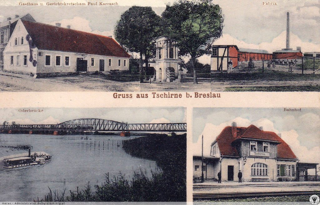Czernica Wrocław most kolejowy