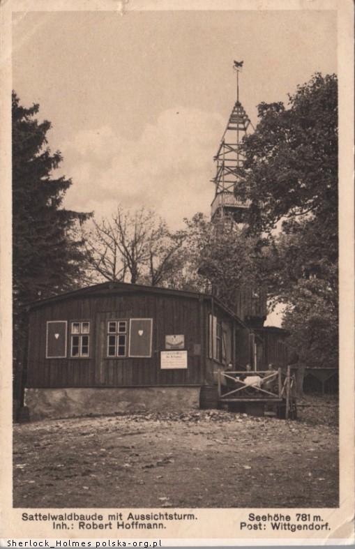 Gospoda i wieża widokowa Trójgarb Witków
