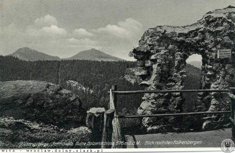Zamek Bolczów przed Wojną