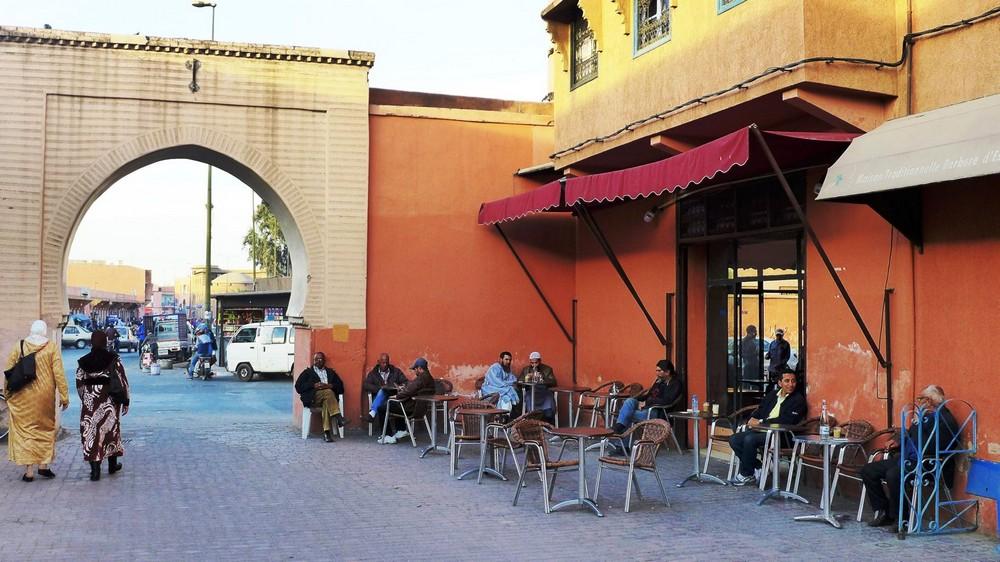 Kawiarnia Maroko Marrakesz