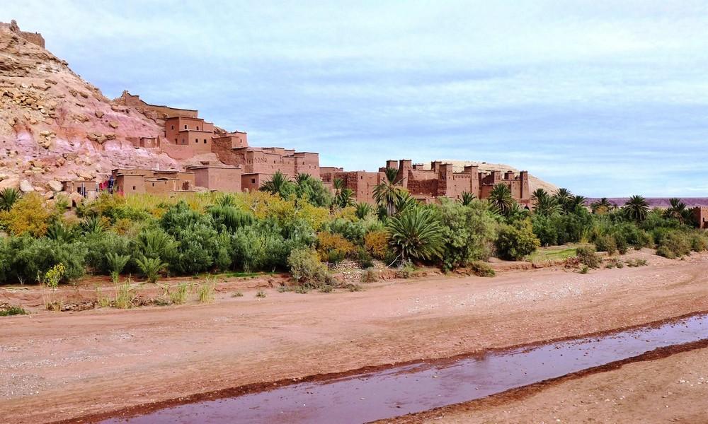 Filmowe miasto Ait Benhaddou Maroko