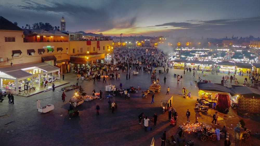 Dżami al-Fana Marrakesz Maroko