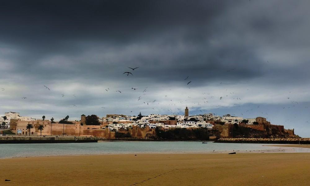Kazba w Rabacie Maroko