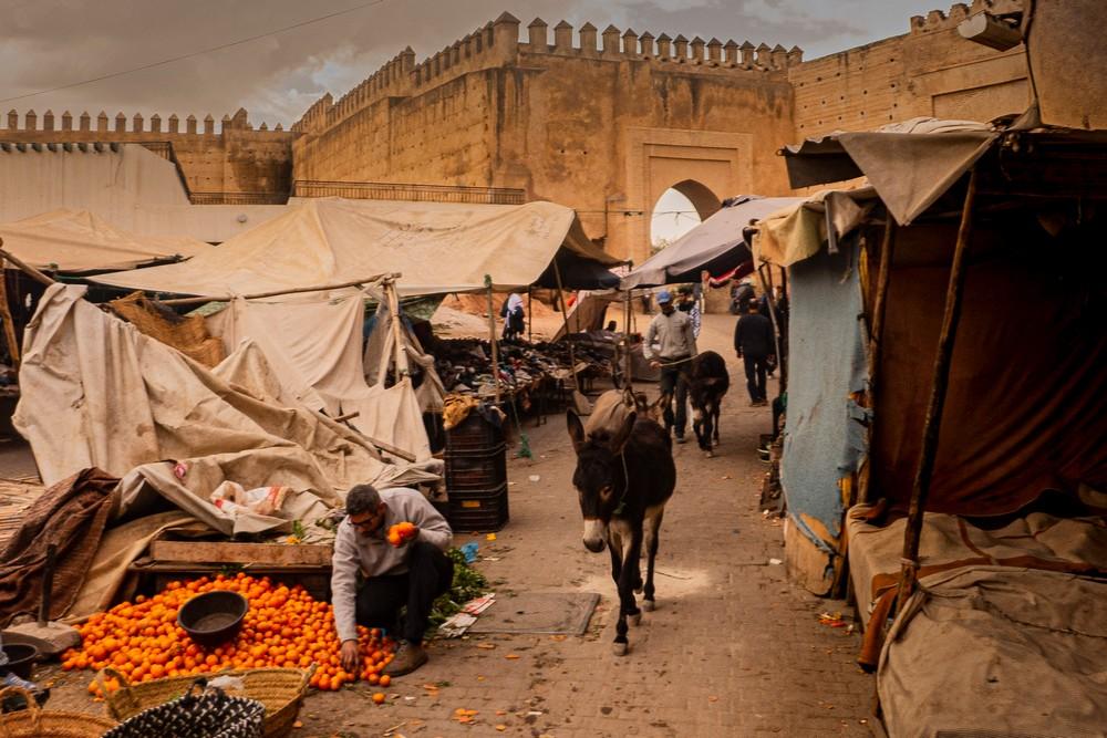 Fez Medyna Maroko
