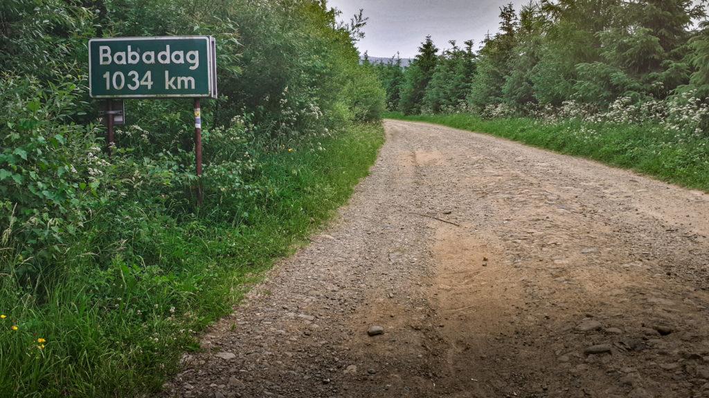 Beskid Niski  Na Węgierskim Trakcie