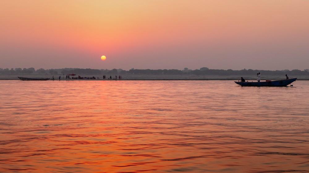 Ganges Indie Waranasi