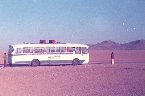 Hippie Trail magiczny autobus