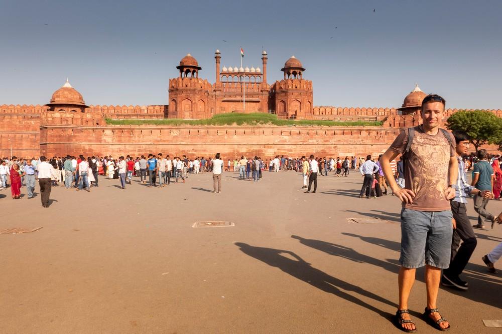 Czerwony Fort Delhi Indie