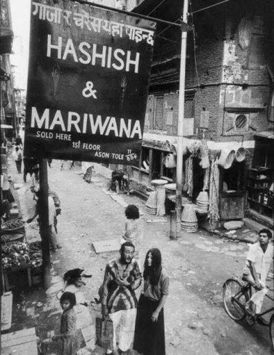 Hippie Trail Katmandu Nepal