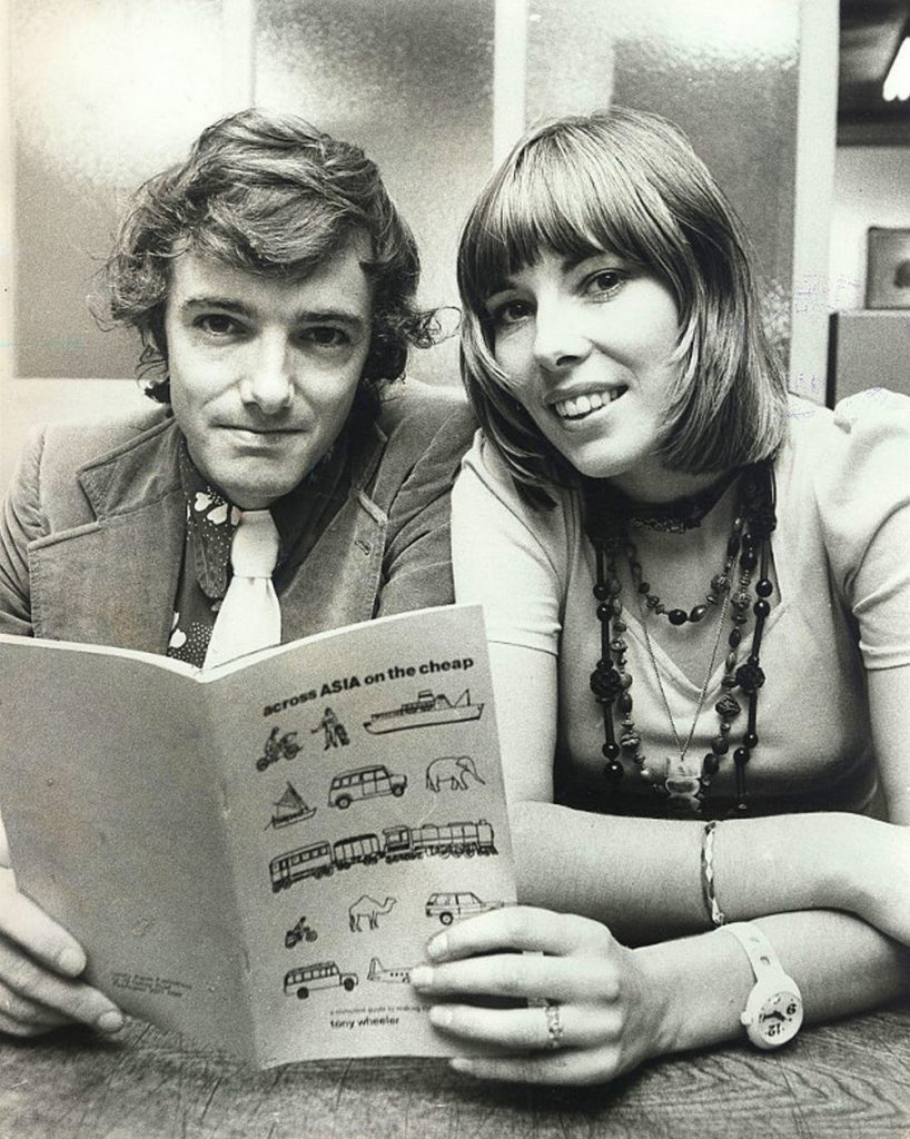 Maureen i Tony Wheeler  twórcy wydawnictwa Lonely Planet