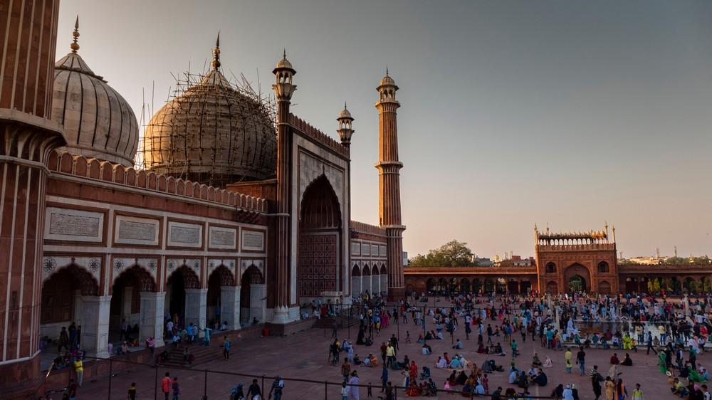 Meczet Piątkowy w Delhi Indie