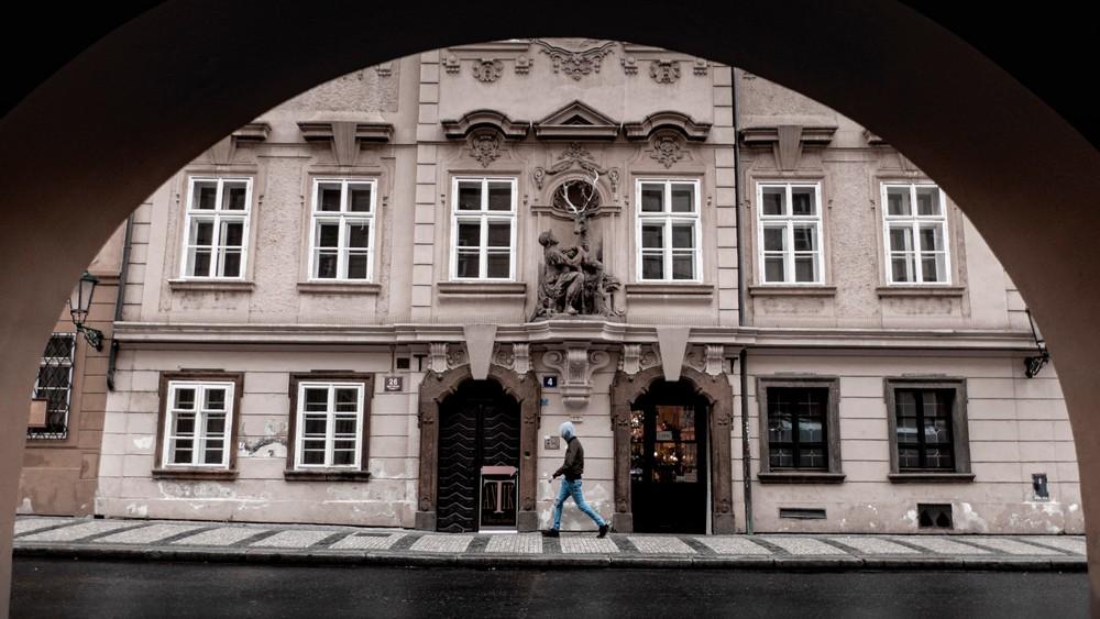Praga kamienice