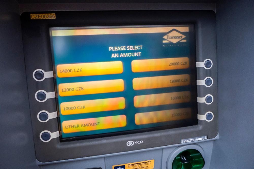Praga bankomat