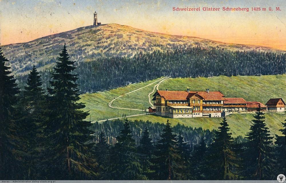 Schronisko pod Śnieżnikiem. 1916