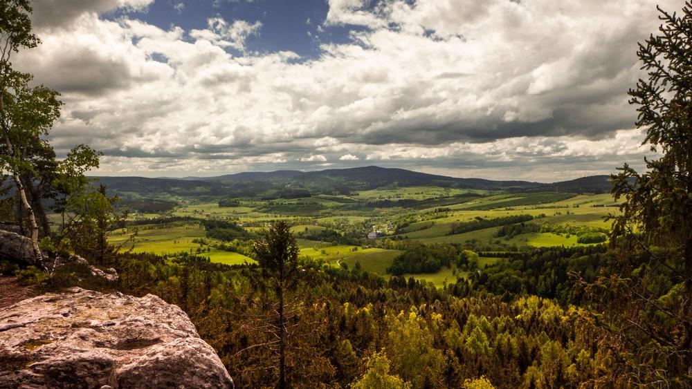 Skalna Czaszka Góry Stołowe