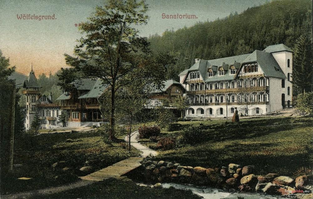 Sanatorium. 1905-1915