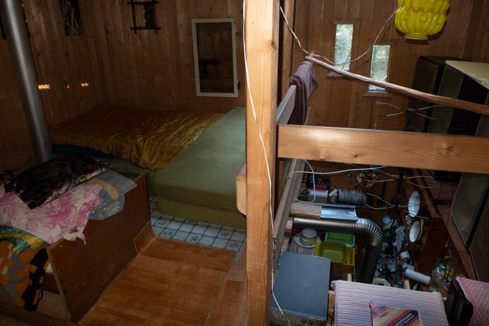 Wnętrze chatki