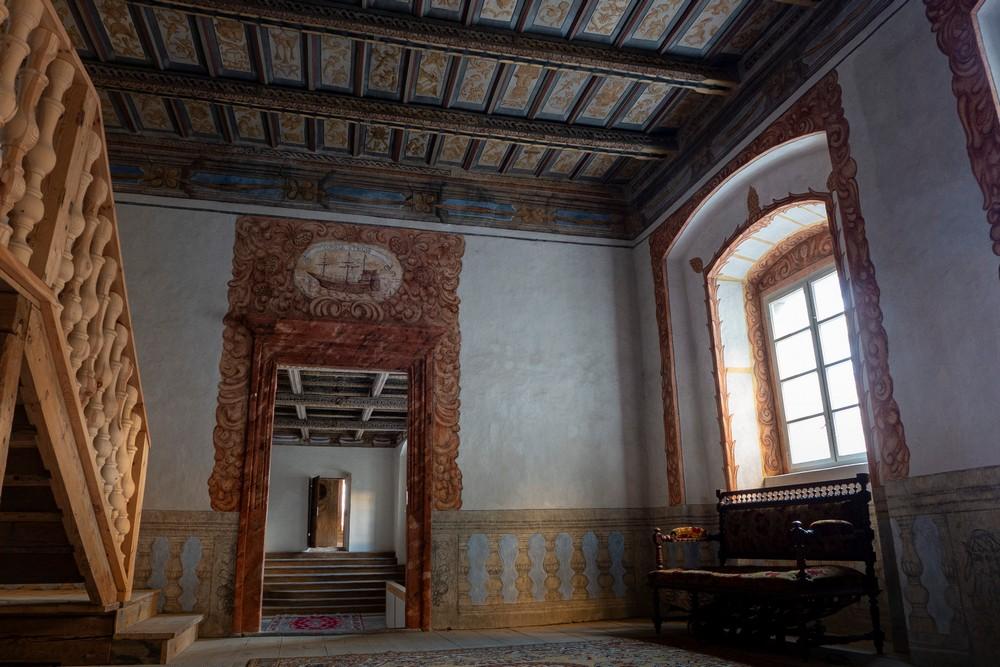 Pałac Gorzanów polichromie