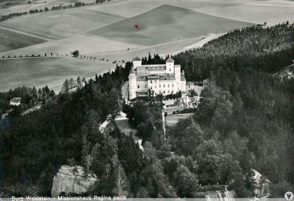 Zamek Leśna Skała przed wojną