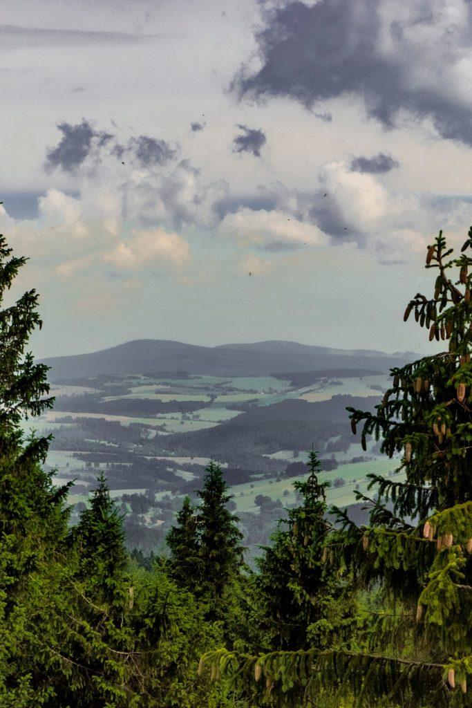 Anenský vrch Góry Orlickie