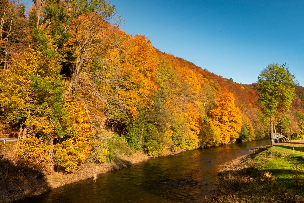 Góry Ołowiane i rzeka Bóbr