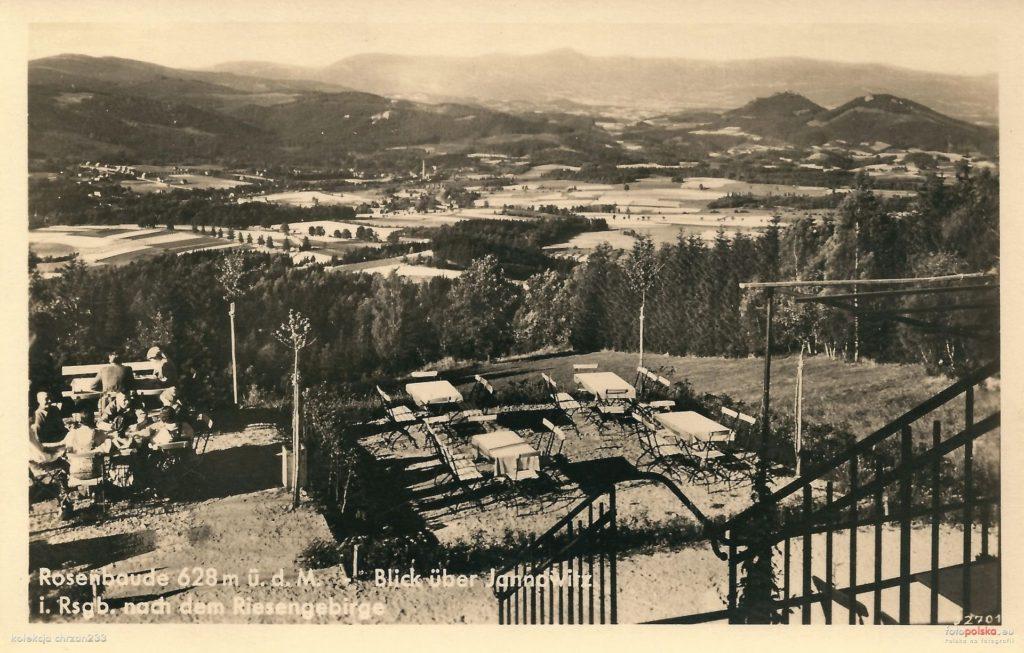 Schronisko na Różance przed wojną