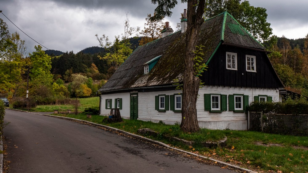 Dom pisarza. Mieszkał w nim niemiecki poeta A. Brahvogel