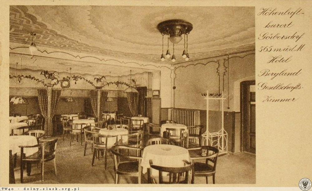 W hotelu Bergland. 1920-1935