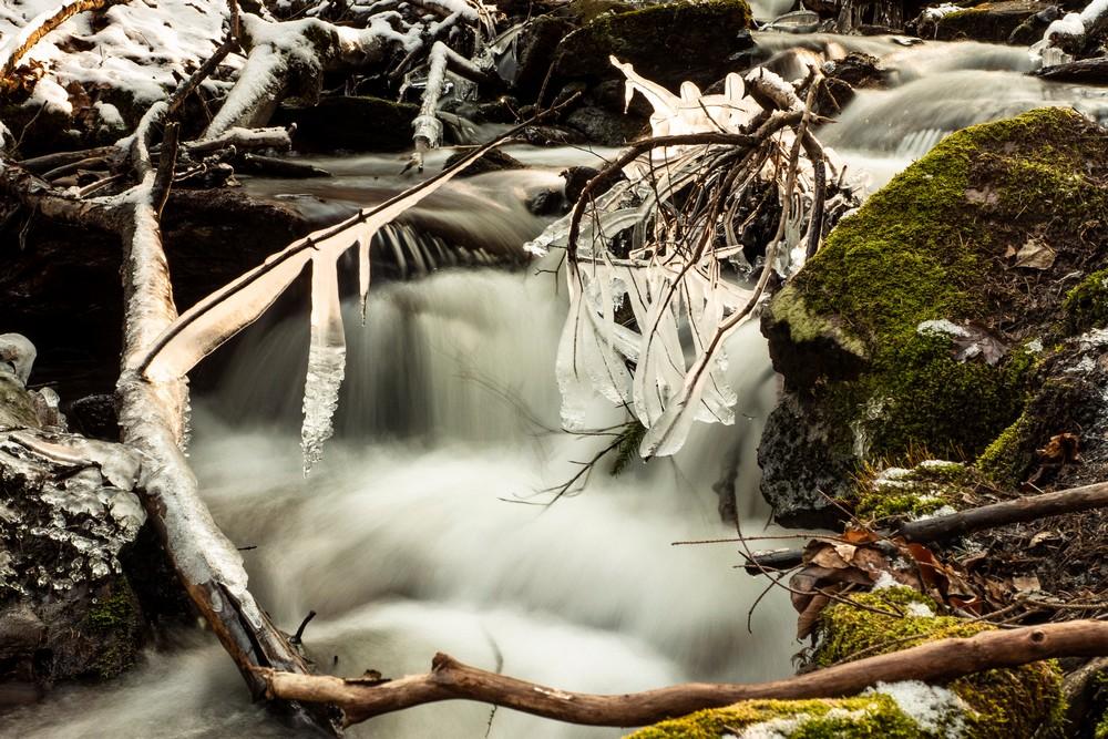 Potok Piekiełko obok Solnej Jamy