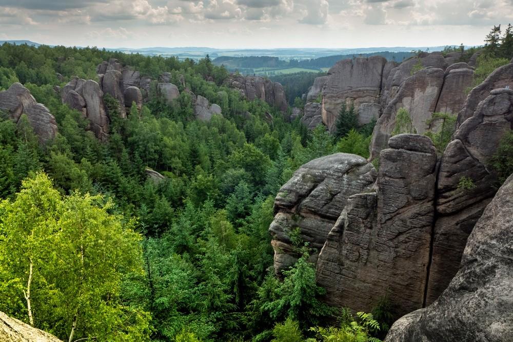 Broumowskie Ściany skalni divadlo